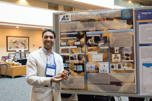 image of Amr Khalaf Shahat at the 2018 Annual Meeting with his first-place graduate student poster