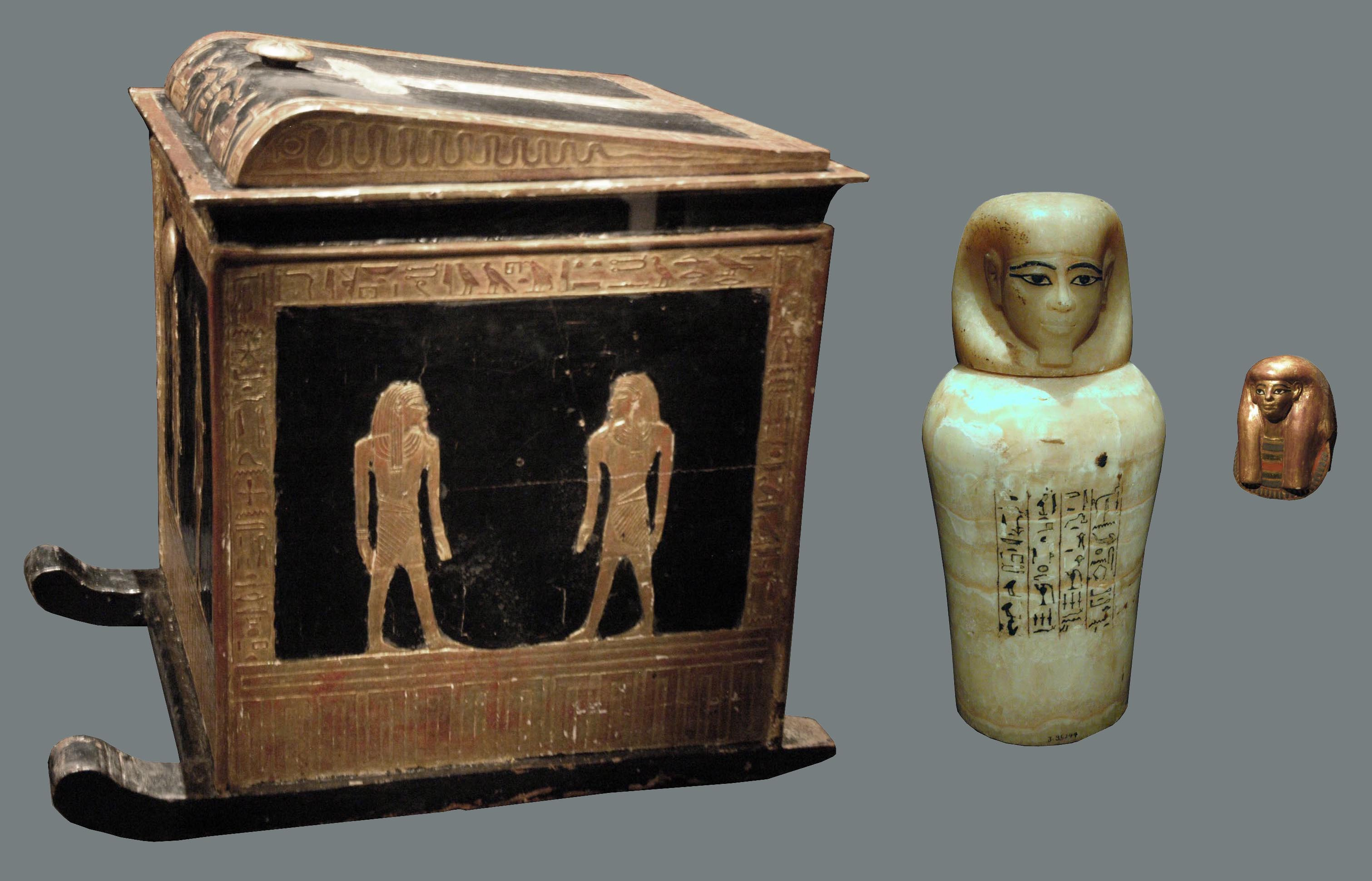 Awe Inspiring Canopic Equipment Beauty And Revelations Of From Ancient Egypt Ocoug Best Dining Table And Chair Ideas Images Ocougorg