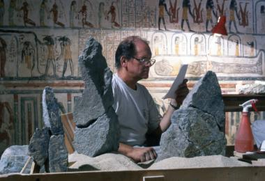Conservation of the Sarcophagus of Ramses VI