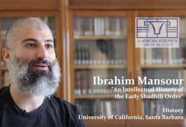 ARCE Fellows: Ibraham Mansour