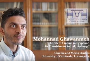 ARCE Fellows: Mohannad Ghawanmeh