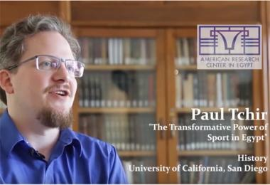 ARCE Fellows: Paul Tchir