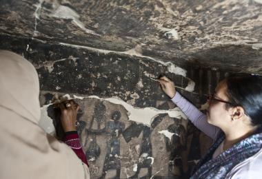 Theban Tomb 110 Site Conservation and Training