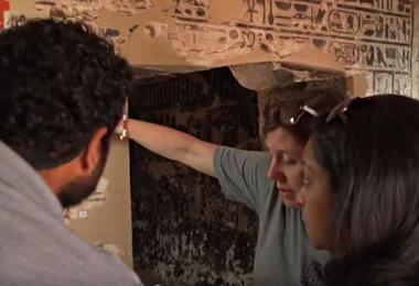 Field School Experience at Theban Tomb 110